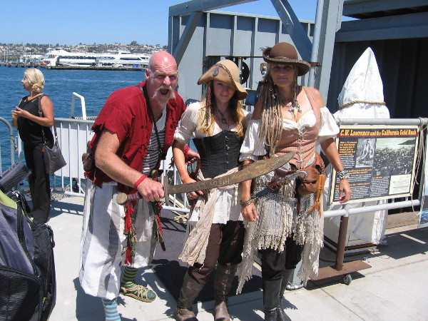 Mister Mac, that notorious pirate, has descended on San Diego with two rascally accomplices to wreak havoc.