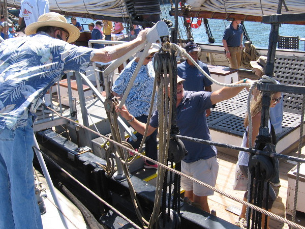 Visitors to the 2016 Festival of Sail in San Diego learned about history and experienced a bit of what life is like aboard a tall ship.
