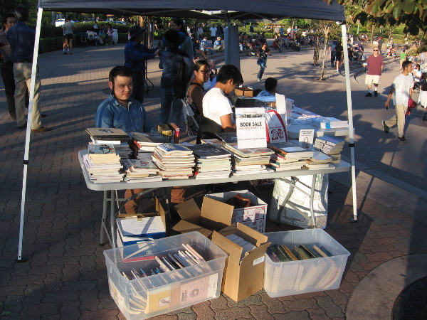 The San Diego Chinese Historical Society and Museum was having a book sale!