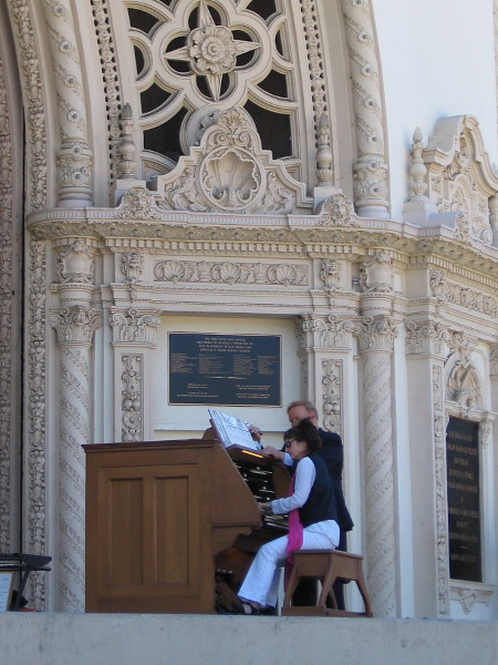 A special day in Balboa Park as San Diego's first woman Civic Organist plays the king of instruments one last Sunday.