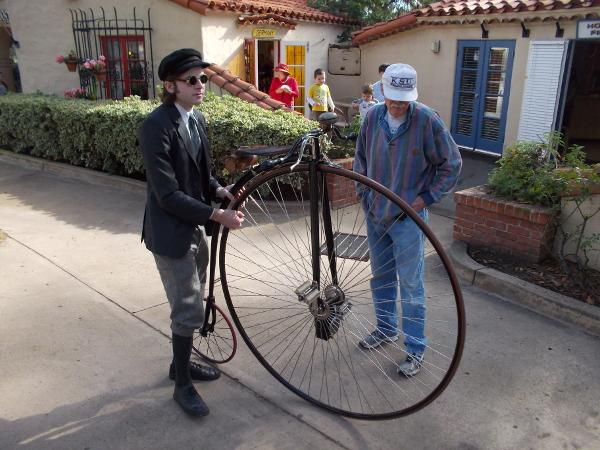 A big wheel in Balboa Park.
