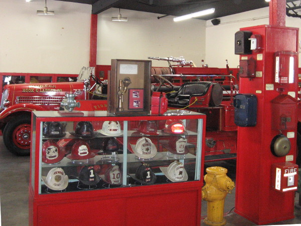 A look inside the Firehouse Museum, which is absolutely jam-packed with cool historical exhibits. Kids love this place.