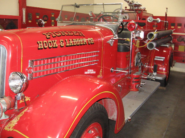 The San Diego Firehouse Museum was founded in 1962 and is operated by the nonprofit Pioneer Hook and Ladder Company.