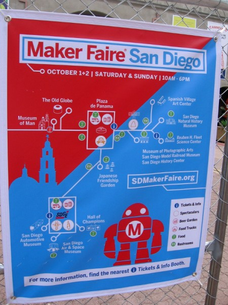Maker Faire San Diego has taken over Balboa Park this weekend. The annual event features creations and creators who like building cool stuff!