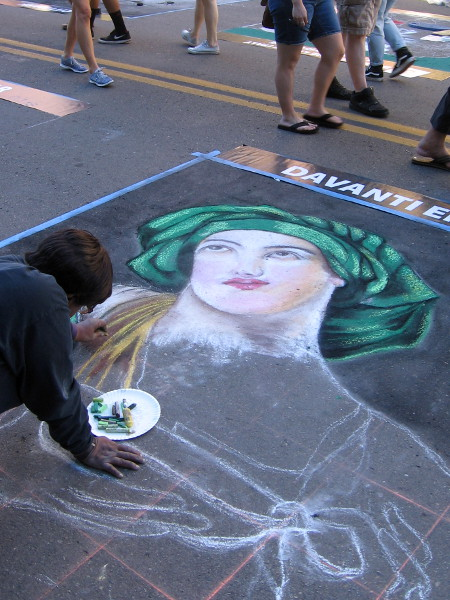 Many classical images borrowed from Italy's rich culture will appear tomorrow on Beech Street for 2016 Festa.