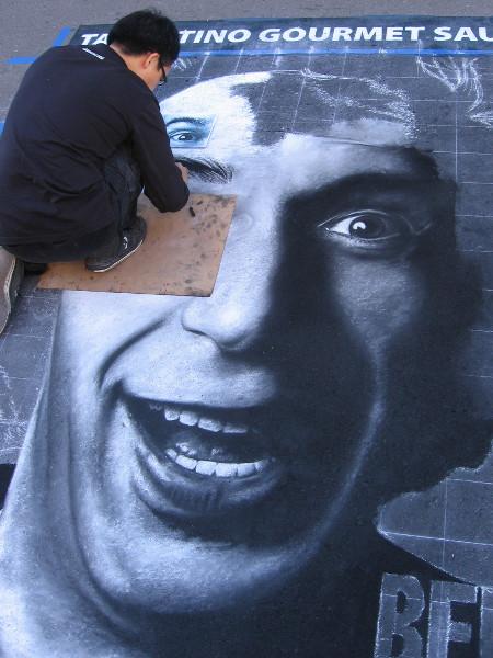 Shuji Nishimura. The face of famous Italian actor and comedian Roberto Remigio Benigni.