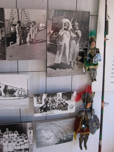 Photographs and puppets provide a glimpse of San Diego's past.