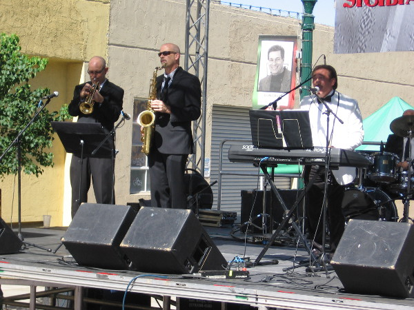 The Sicilian Band performs during Festa in San Diego.
