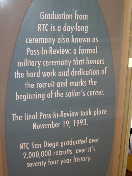 NTC San Diego graduated over 2 million recruits over its 74 year history!