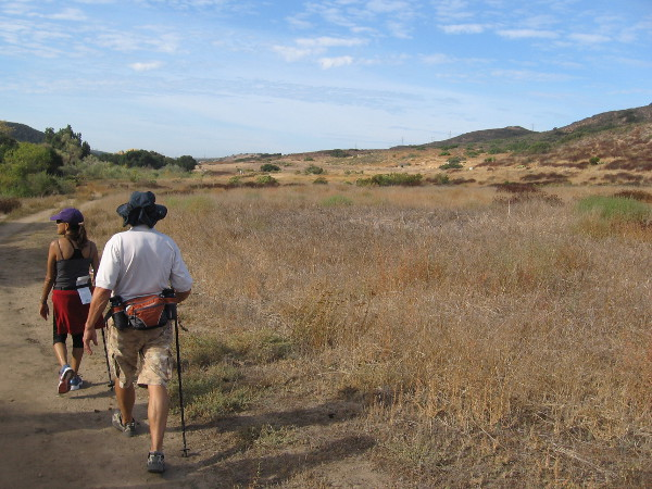 A peaceful walk through nature. Over several decades, activists like Mike have worked hard to preserve the canyon and protect it from development. Today it is maintained by both the City and County of San Diego.