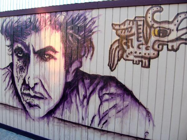 A bold face in Barrio Logan.