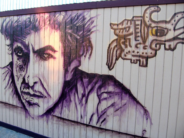 A bold face in Barrio Logan.
