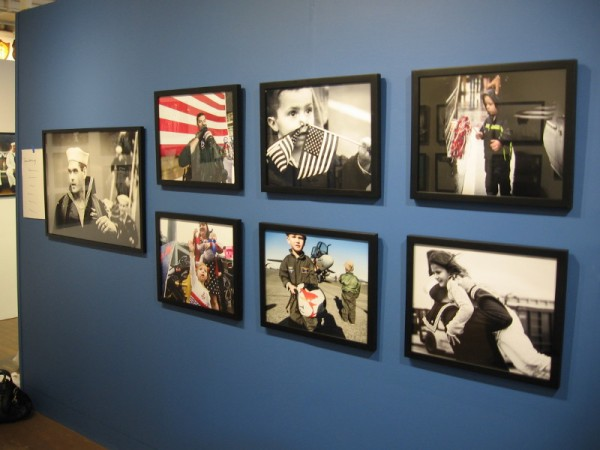 A new exhibit by renowned photographer Kathryn Mussallem opened today at the Maritime Museum of San Diego. It's a Sailor's Life for Me - At work, play and homecoming.