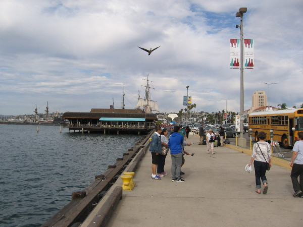 Another beautiful day on the Embarcadero. Time marches on.