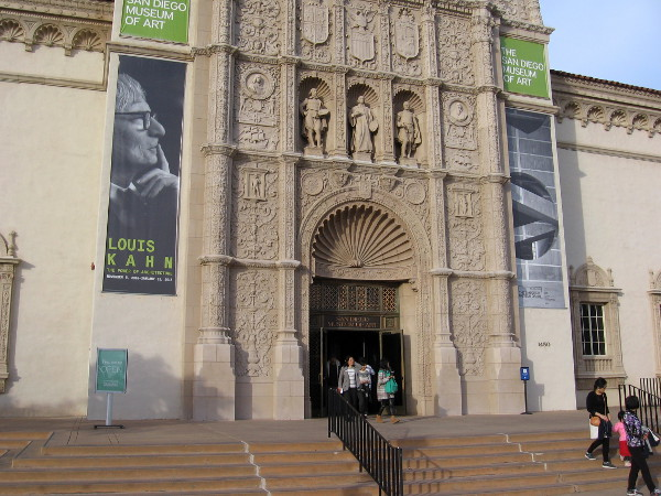 Louis Kahn The Power of Architecture is a special exhibit showing at the San Diego Museum of Art in Balboa Park through January 31, 2017.