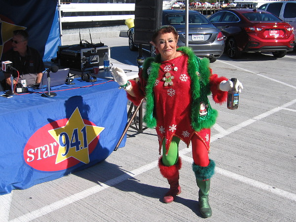 This funky elf is present to lend a helping hand and a laugh or two!