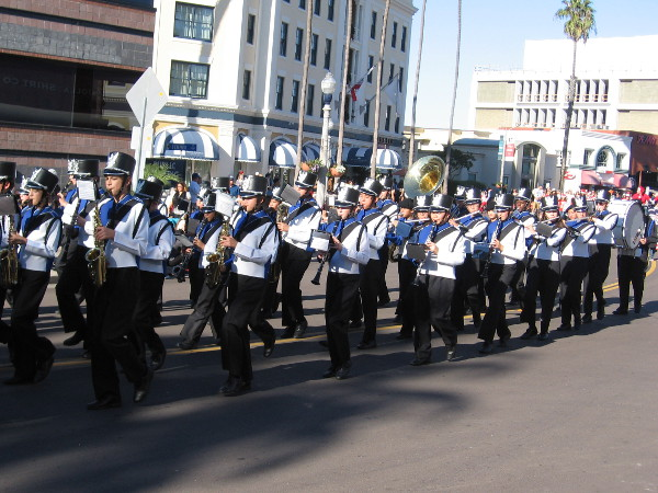 Every parade must have marching bands!