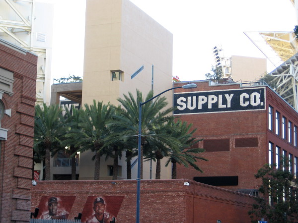 The 1910 Western Metal Supply Company Building is now an iconic part of Petco Park in San Diego.