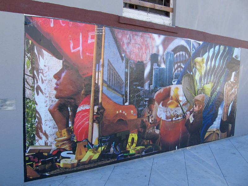 cool mural celebrates diversity in golden hill cool san. Black Bedroom Furniture Sets. Home Design Ideas