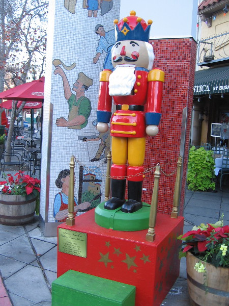 I wonder if this nutcracker likes pizza. Chances are he prefers walnuts.