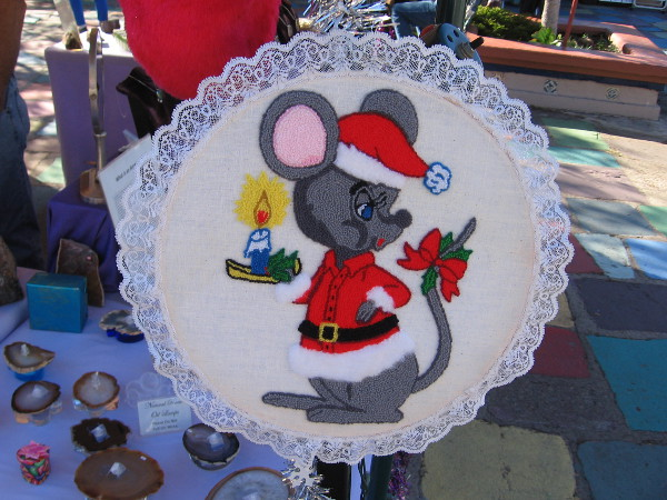 I'll just have to make do with Santa Mouse.