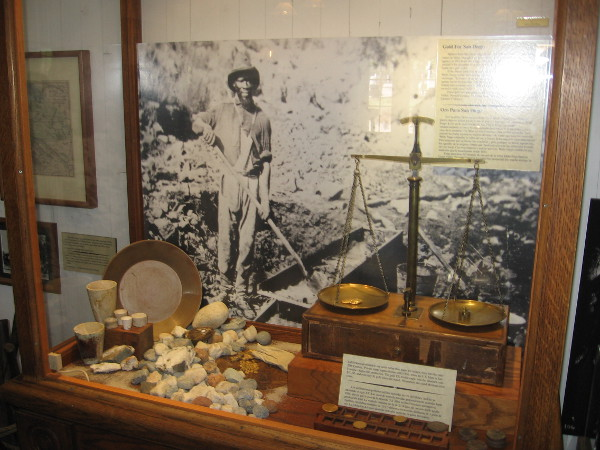 Gold was discovered at Julian in San Diego's mountains, triggering a small rush into the area.