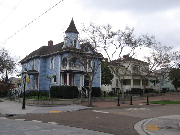 Heritage Square in National City contains several historic structures from the mid to late 19th century.