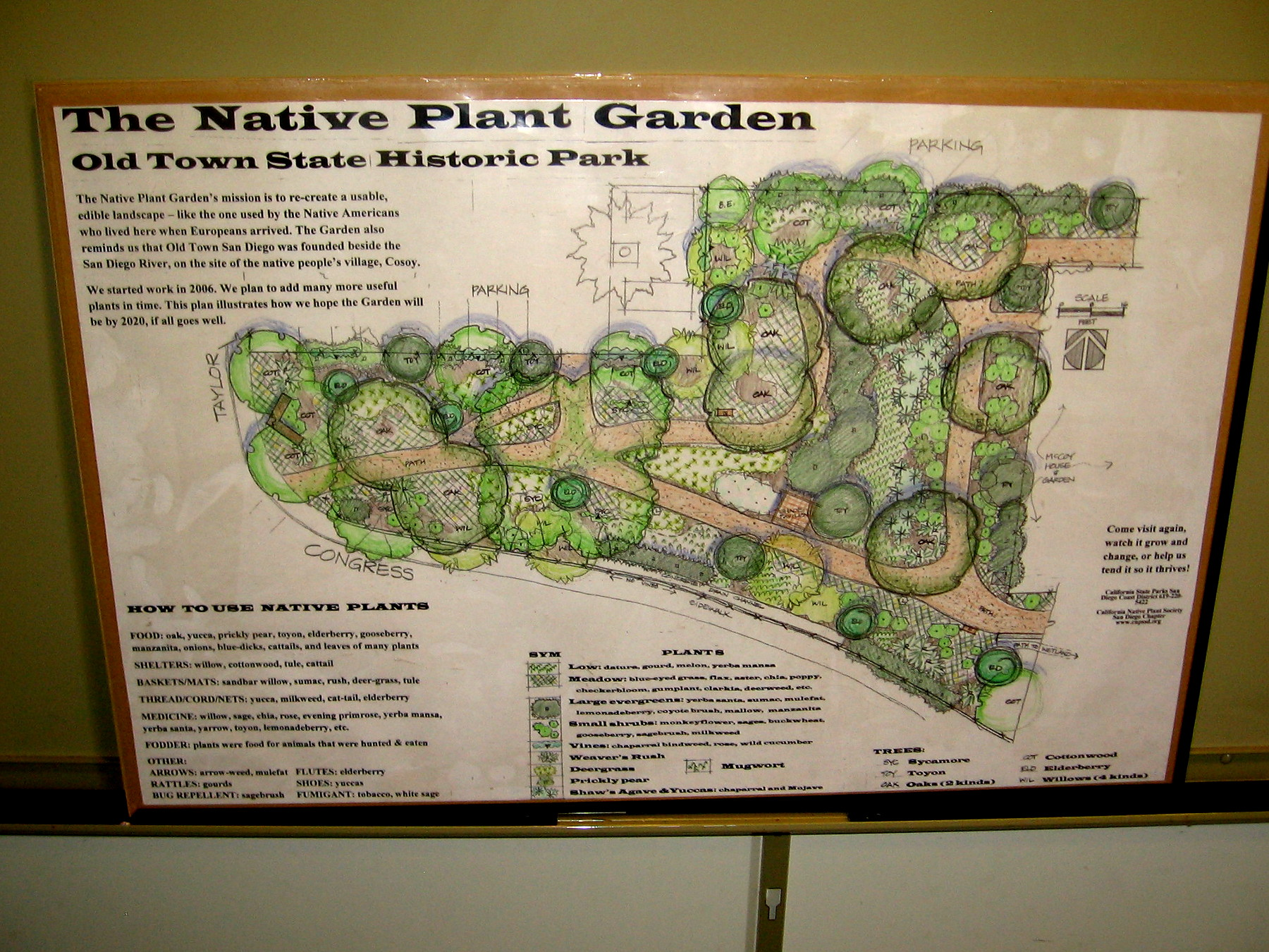 Native garden near old town san diego s mccoy house - Towne place at garden state park ...
