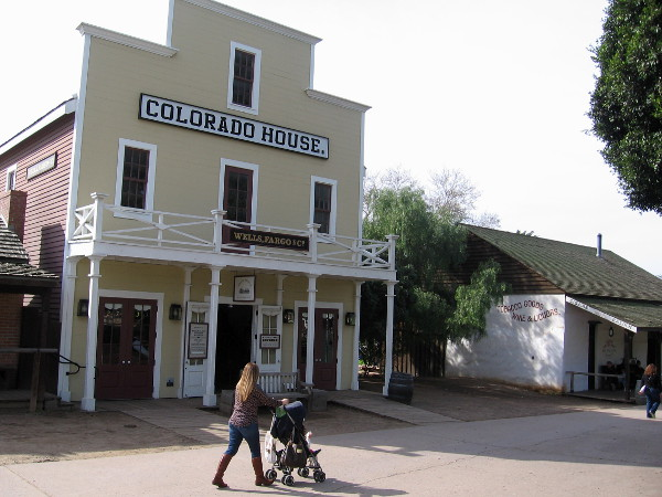 If you ever visit Old Town San Diego State Historic Park, check out the interesting Wells Fargo History Museum in the Colorado House!