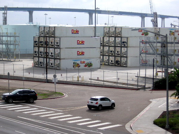 If you live on the West Coast and eat bananas, they probably arrived on a Dole cargo ship at San Diego's Tenth Avenue Marine Terminal.