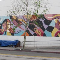 The Strength of the Women mural by Rafael Lopez.