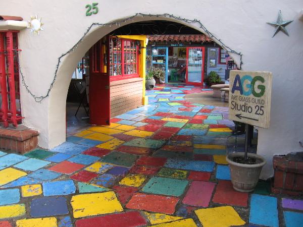 A magical passageway.