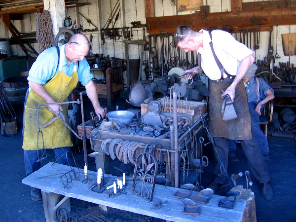 These guys are keeping the ancient art of blacksmithing alive in a high tech world.
