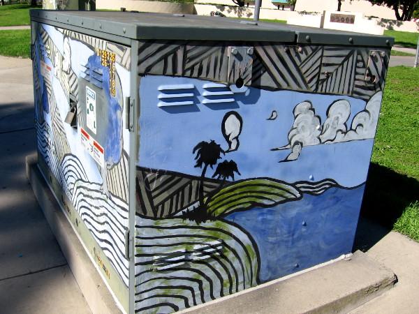 More cool street art in Mira Mesa.