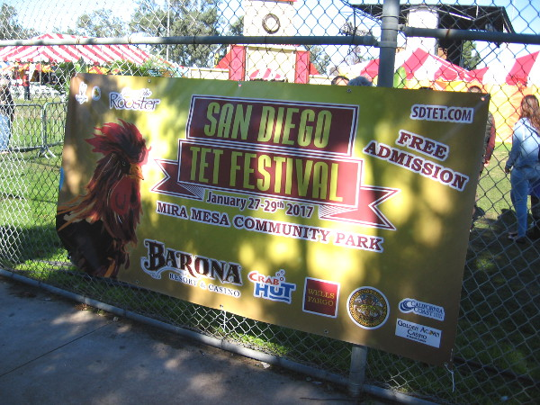 A free annual celebration of Tet, the Vietnamese New Year, takes place at Mira Mesa Community Park.