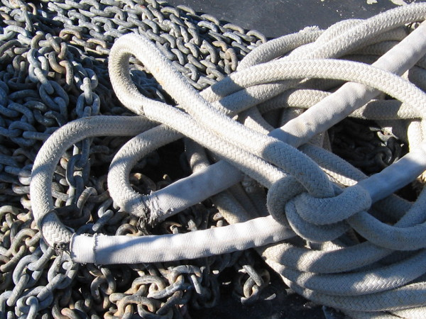 Rope and chain. Ancient inventions.