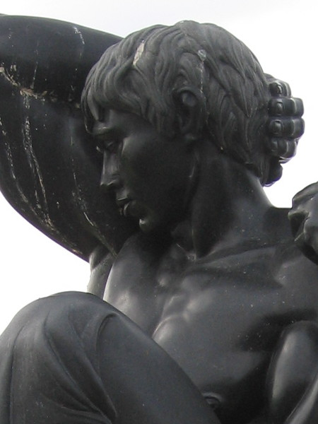 Morning was acquired by the Port of San Diego in 1983 and installed on the waterfront. Until then, the sculpture was located at Donal Hord's residence.