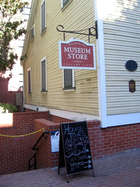 Tours of the historic house are available. A museum store contains fascinating gifts.