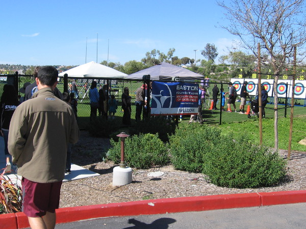 A special public event is held at the Easton Foundations Archery Center of Excellence, part of the U.S. Olympic Training Center, now called the Chula Vista Elite Athlete Training Center.