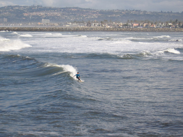 Pacific Beach and La Jolla can be seen in the distance.