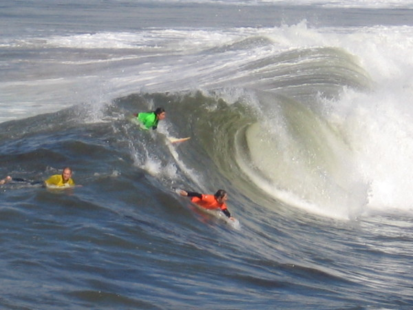 Wow! Check out this pic of the surf competition! Very cool!