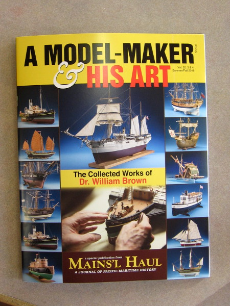 A Model-Maker and His Art. The collected works of Dr. William Brown. Any serious model ship maker, collector or hobbyist must have this fine publication.