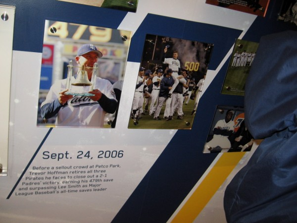 Trevor Hoffman becomes the all-time Major League Baseball saves leader in 2006.