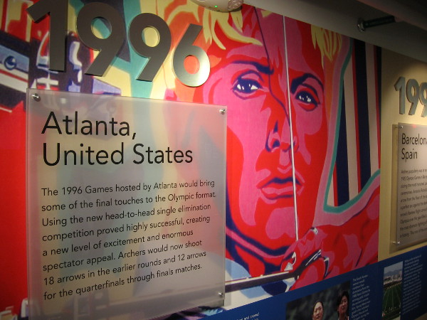 The 1996 Olympic Games in Atlanta based the competition on head-to-head single elimination, a change that proved very popular.