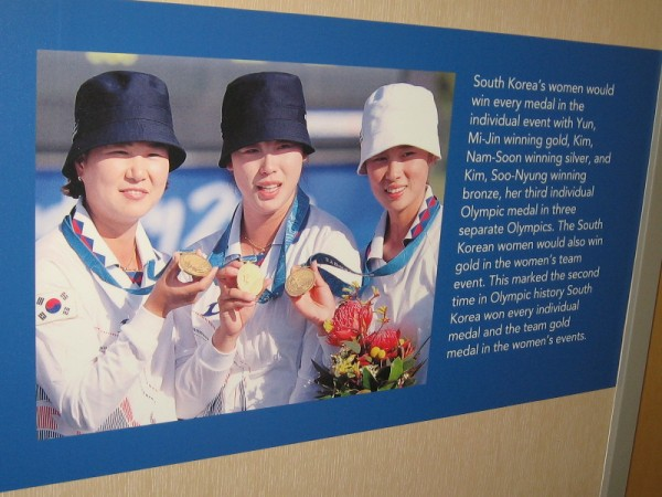 In 2000 South Korea's women dominated archery at the Sydney Summer Olympic Games.