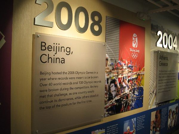 Beijing, China hosted the 2008 Olympic Games where many records were broken.