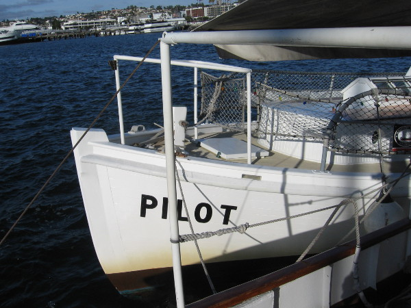 Pilot docked at the Maritime Museum of San Diego.