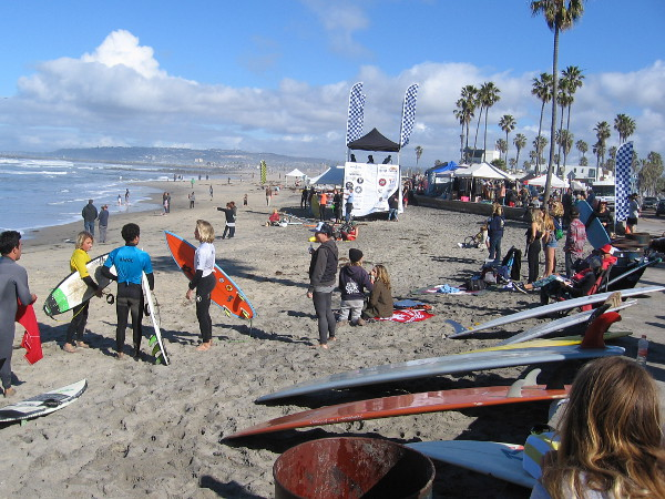 A wonderful day at the 2nd Annual Ocean Beach Pier Surf Classic. Here's to many more years of success!