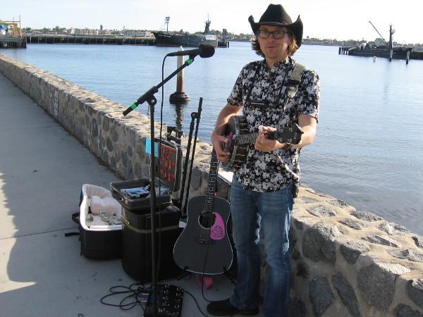 Fast Heart Mart sings smart, memorable music on San Diego's Embarcadero.