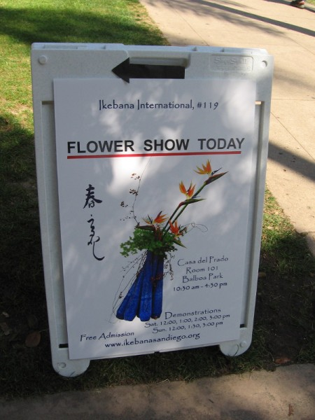 Japanese Flower Arrangement Show In Balboa Park Cool